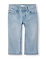 The Children's Place Girls Blue Denim Capris