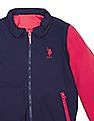 U.S. Polo Assn. Kids Girls Reversible Padded Jacket
