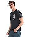 Colt Blue Raglan Sleeve Slim Fit T-Shirt