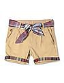 U.S. Polo Assn. Kids Girls Standard Fit Solid Shorts
