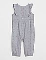 GAP Baby Stripe Dot Flutter One-Piece