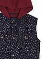 Cherokee Boys Regular Fit Hooded Shirt