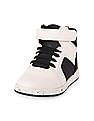 The Children's Place Toddler Boy White Colour Block Jet Sneaker