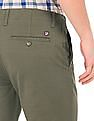 U.S. Polo Assn. Flat Front Slim Fit Chinos