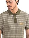 GAP Striped Pique Polo Shirt