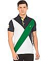 Nautica Colour Blocked Classic Fit Polo Shirt