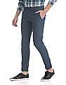 Ruggers Modern Regular Fit Flat Front Trousers