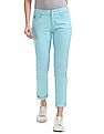 U.S. Polo Assn. Women Skinny Fit Solid Trousers
