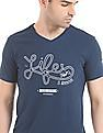 Cherokee Embroidered Front Muscle Fit T-Shirt