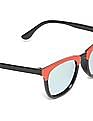 Unlimited Boys Square Frame Mirrored Sunglasses