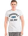 Aeropostale White Applique-Front T-Shirt