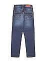 U.S. Polo Assn. Kids Boys Washed Regular Fit Jeans