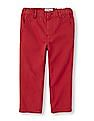 The Children's Place Boys Red Skinny Chino Pants